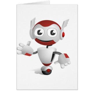 """Robot 3"" Card"