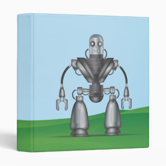 Robot 3 Ring Binder