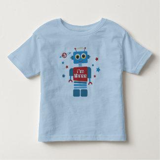 Robot 3rd Birthday Toddler T-shirt