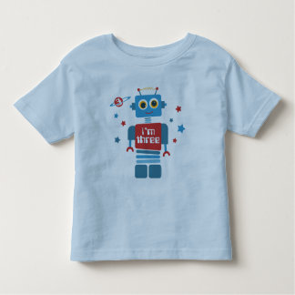 Robot 3rd Birthday Tshirts