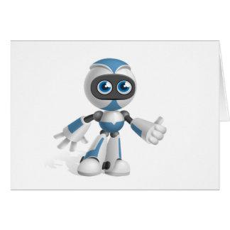 """Robot 4"" Cards"