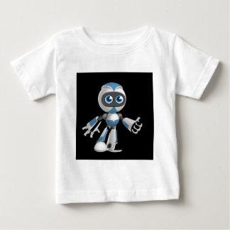 """Robot 4"" in black Baby T-Shirt"