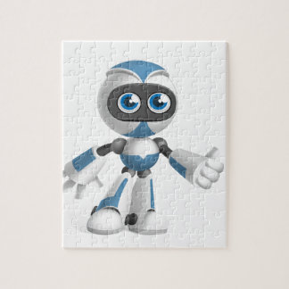 """Robot 4"" Jigsaw Puzzle"