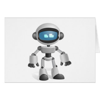 """Robot 5"" Cards"