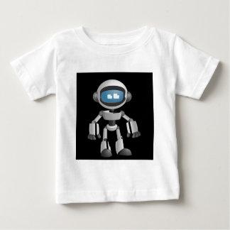 """Robot 5"" in black Baby T-Shirt"