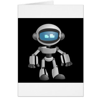 """Robot 5"" in black Cards"