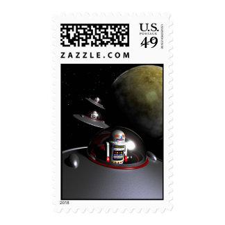 ROBOT - 7 Saucers Postage