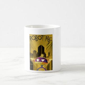 Robot ABC Metropolis mug