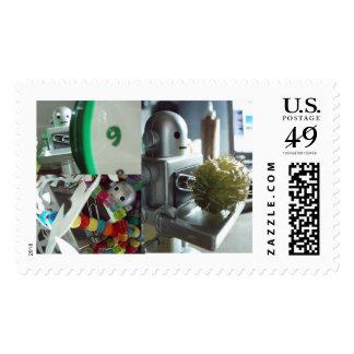 Robot Adventures Stamps