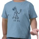 Robot amistoso camisetas