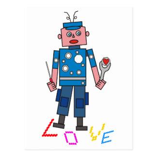 Robot amor postal