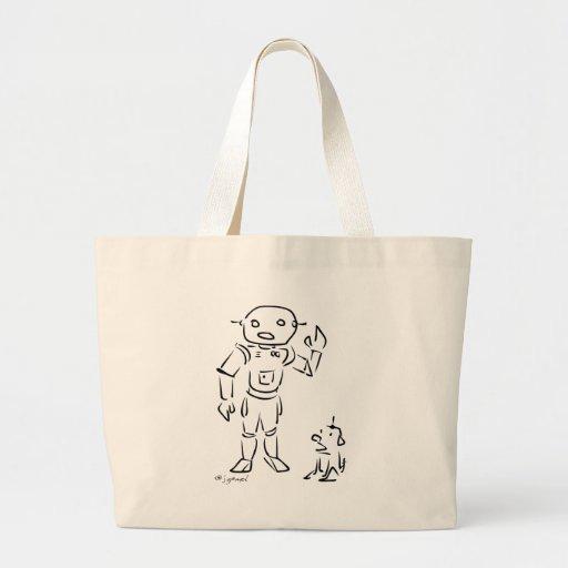 Robot and His Dog Bags