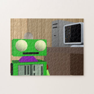 Robot and PC Jigsaw Puzzle