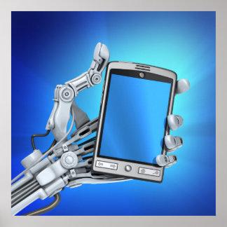 Robot and PDA Poster