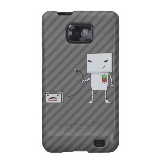 Robot and Toaster Galaxy SII Covers