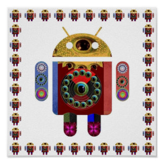 ROBOT Android Poster