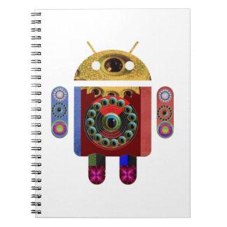 Robot ANDROIDE Libreta