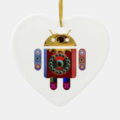 Robot ANDROIDE Ornamentos De Reyes