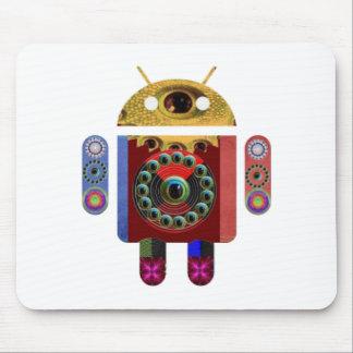 Robot ANDROIDE Alfombrilla De Raton