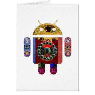 Robot ANDROIDE Tarjeton