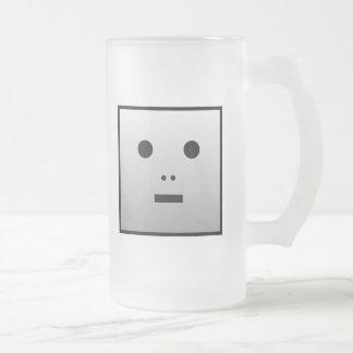 Robot anónimo - modificado para requisitos taza de cristal