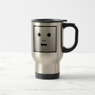 Robot anónimo - modificado para requisitos taza de viaje