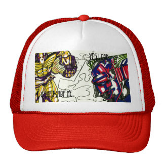 ROBOT'S, U CAN'T STOP ME, YES I CAN Trucker Hat
