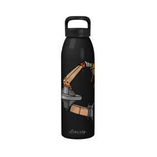 Robot Arm Drinking Bottles