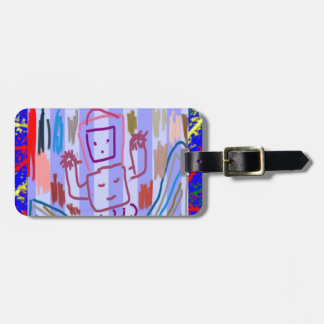 ROBOT ART by KIDS Luggage Tags