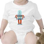 Robot asustadizo del globo del ojo camisetas