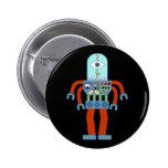 Robot asustadizo del globo del ojo pins