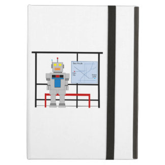 Robot At A Bus Stop Case For iPad Air