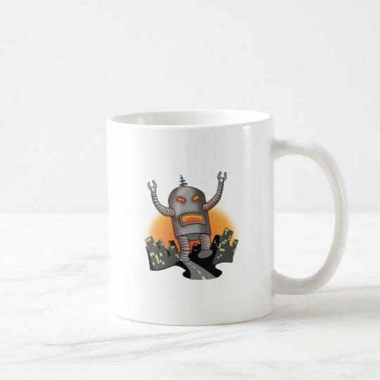 Robot Attack Coffee Mug