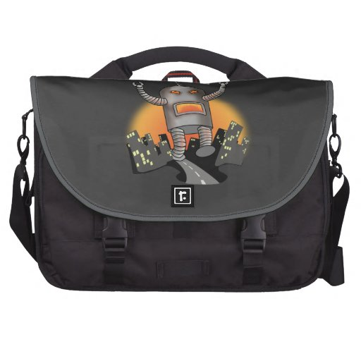 Robot Attack Computer Bag