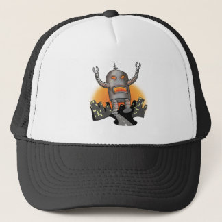 Robot Attack Hat