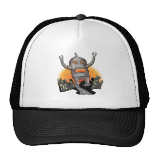 Robot Attack Hat