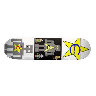 robot attack skate board