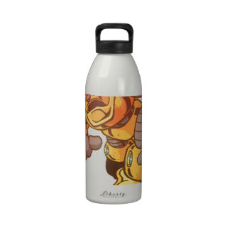 Robot Attack Water Bottle