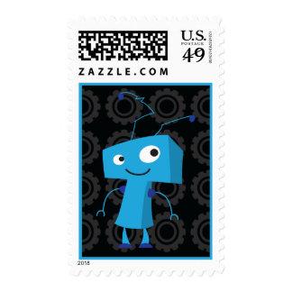 Robot - azul franqueo