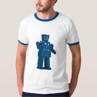 Robot azul - Hotness Nerdy de Sci Fi Playera