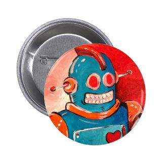 Robot azul pin