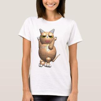 Robot Ball Cat Sexy T-Shirt