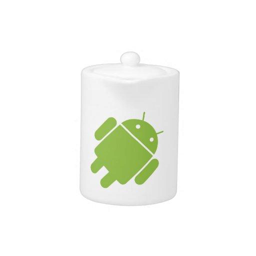 Robot básico del OS del androide