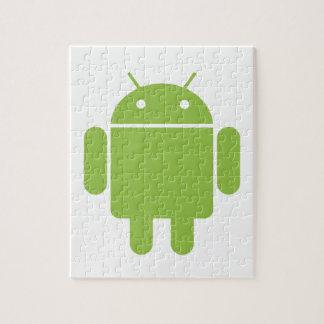 Robot básico del OS del androide Puzzle