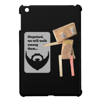 Robot, beard disguise case for the iPad mini