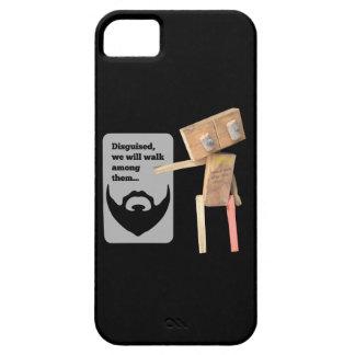 Robot, beard disguise iPhone SE/5/5s case