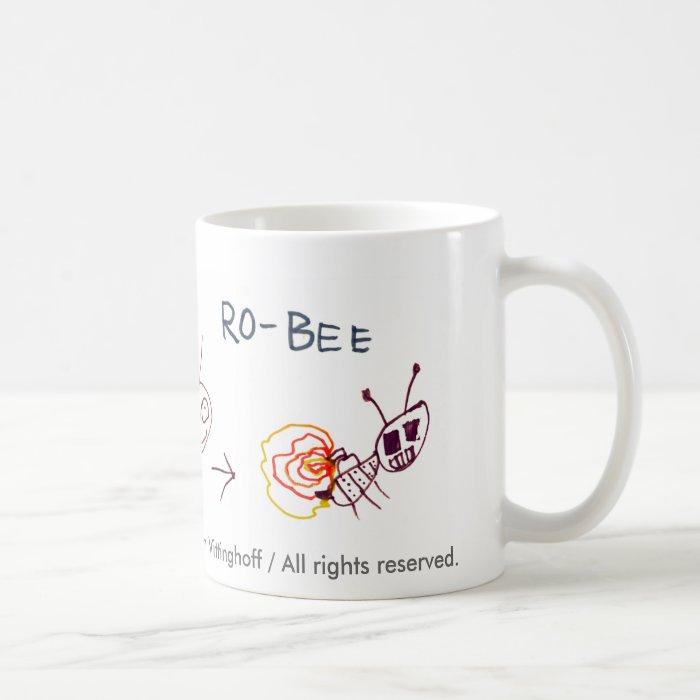 Robot Bee Mug