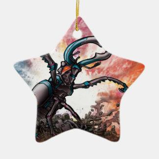 Robot Beetle Ornament