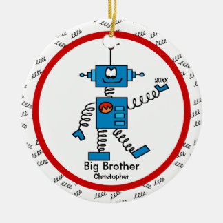 Robot Big Brother Christmas Ornament