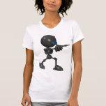 Robot Bionic del muchacho 3D - arma del dedo - ori Camiseta